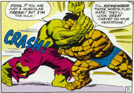 hairy guy wrestles rocky