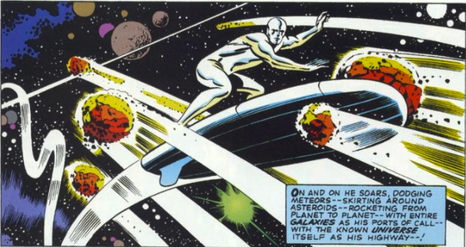 fantastic four 48 silver surfer 1