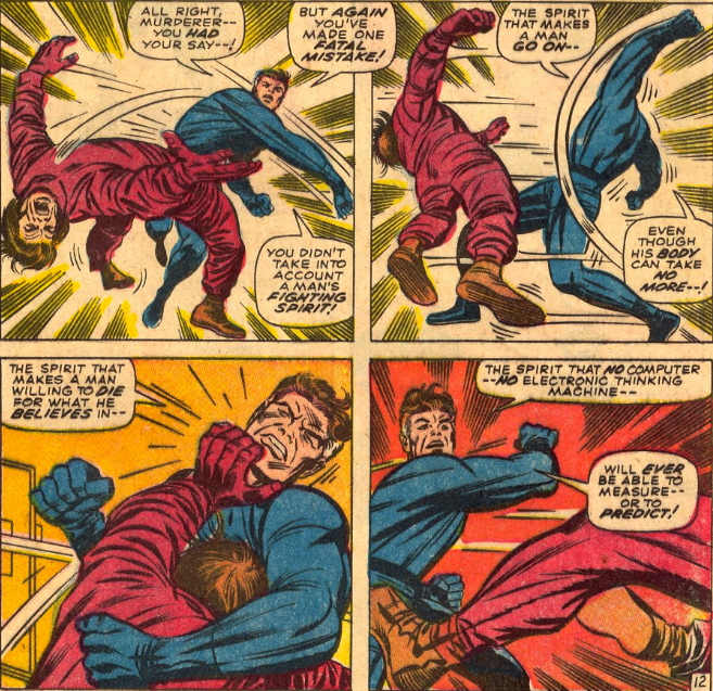 mr fantastic fist fights