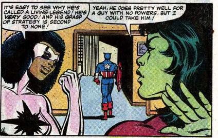 cap, shulk and black captain marvel