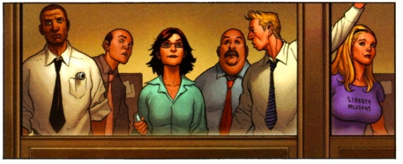 Liberty Meadows in New Avengers #14 (2008)