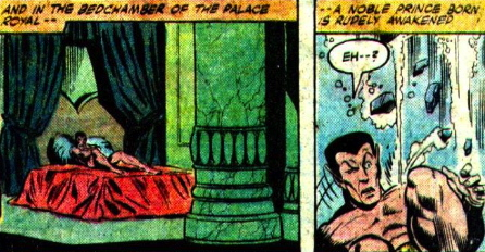 namor naked in bed