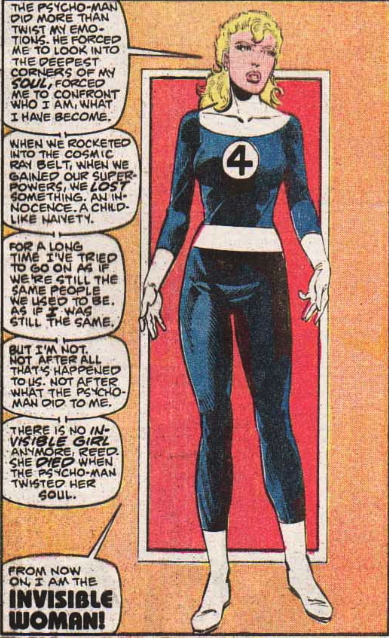first appearance invisible woman