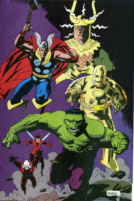 original avengers Mike Mignola