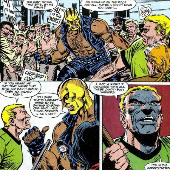 rage marvel comics black character