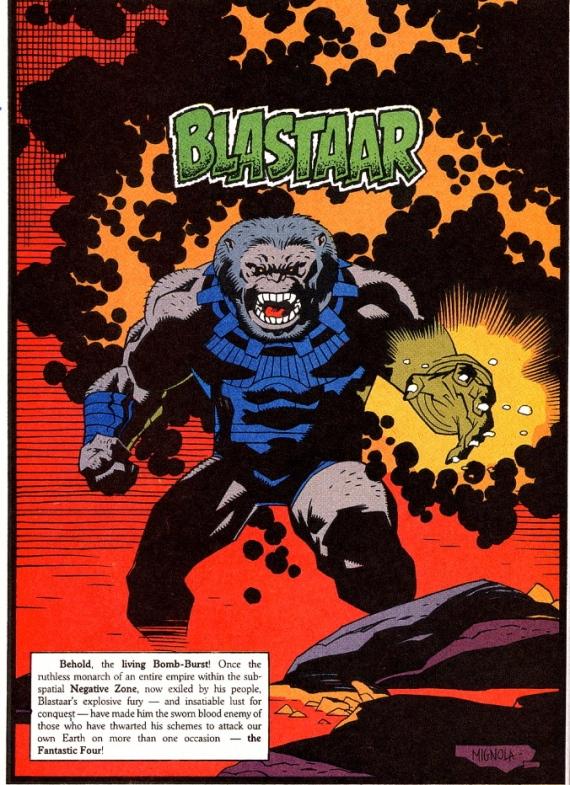 blastaar by Mike Mignola