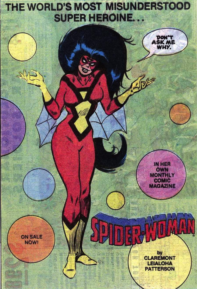 spider-woman house ad