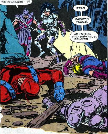 avengers dead