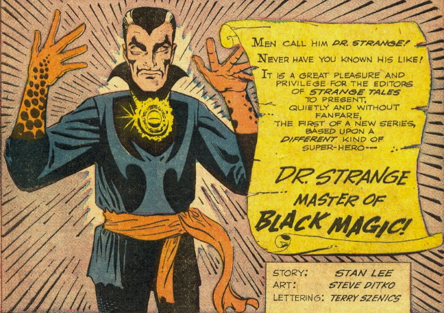 the first appearance of dr. strange