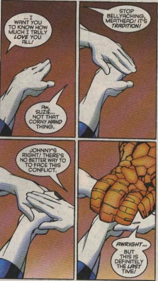 last issue of fantastic four