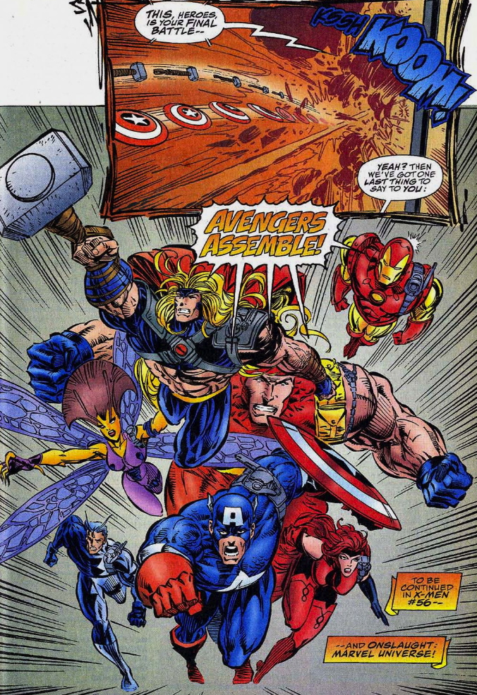 the last panel issue avengers