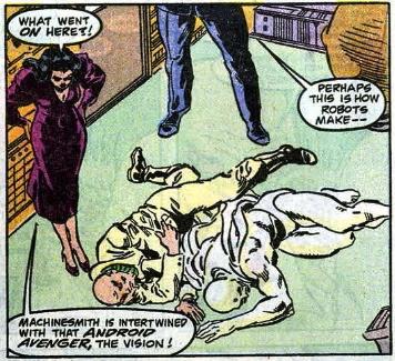 gay robot sex in comics