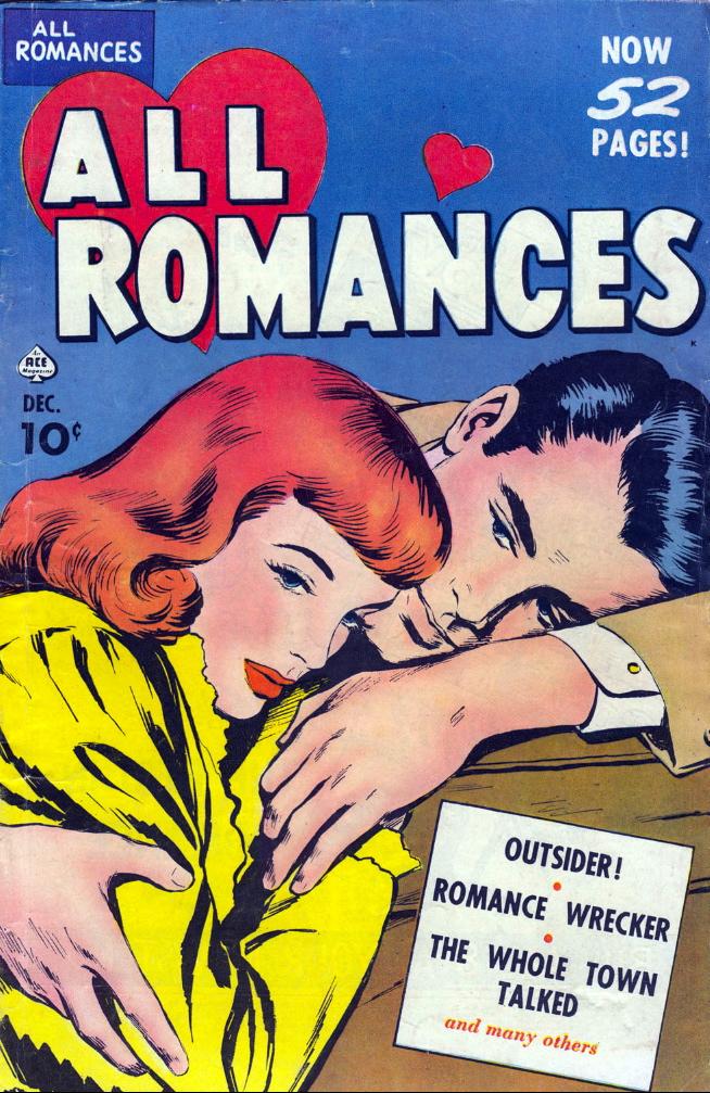 modern romance comic