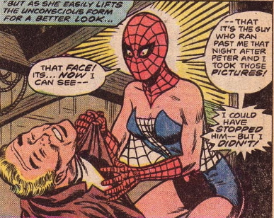 what if spider-man were  a girl