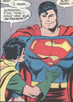 ROBIN SUPERMAN AUTOGRAPH