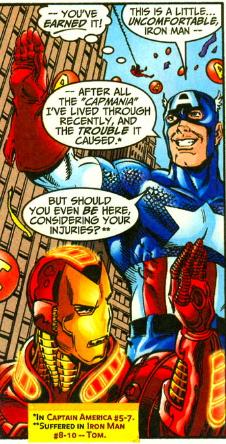 avengers 425 cap and iron man