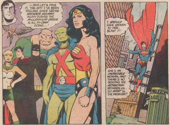 ACTION 598 SUPERMAN AND WONDER WOMAN