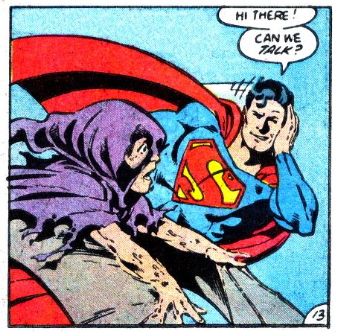 john byrne superman sense of humor