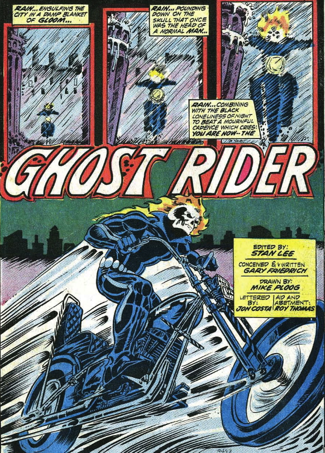 1st appearance ghost rider