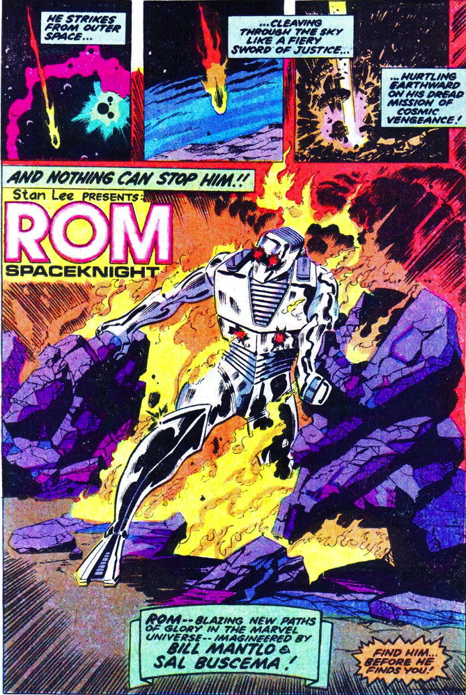 rom the spaceknight #1