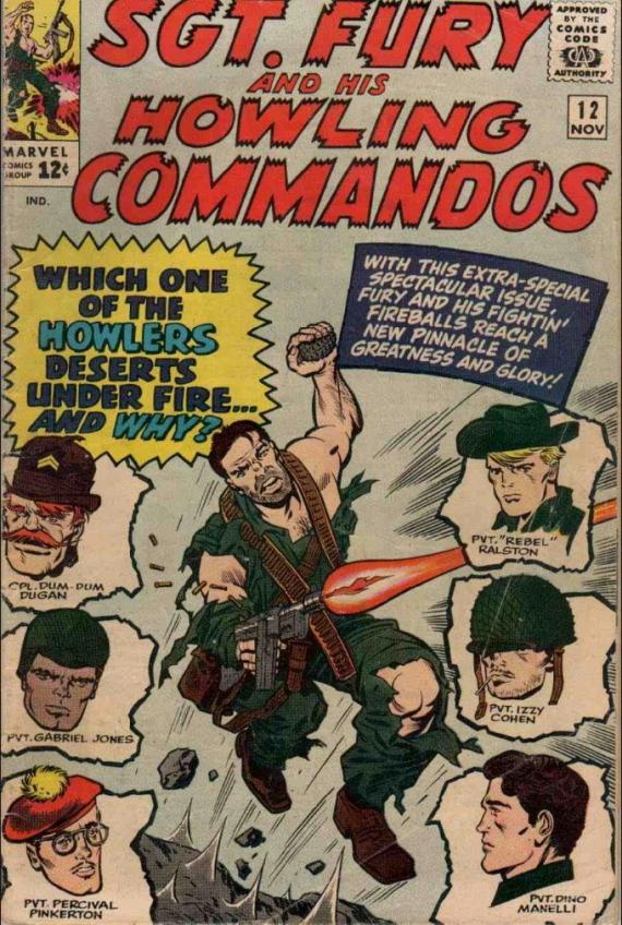 howling commandos 12