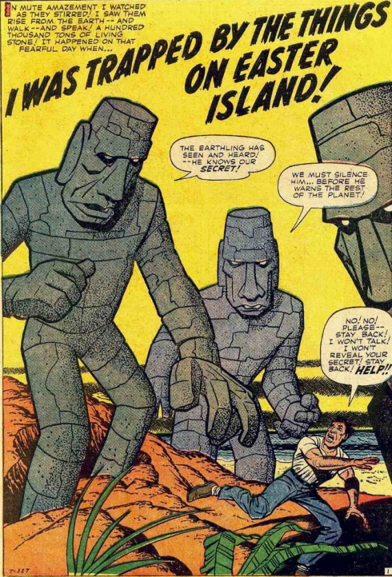 easter island monsters