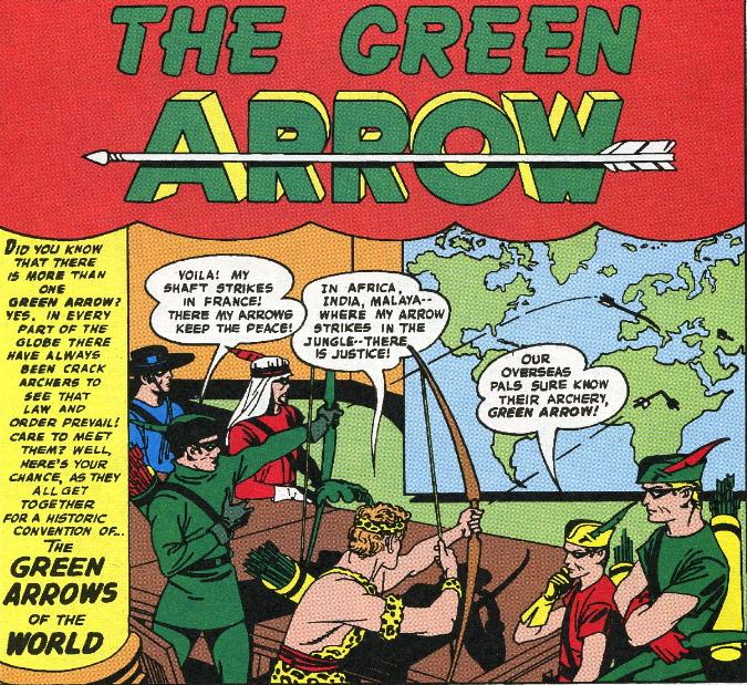 green arrow jack kirby