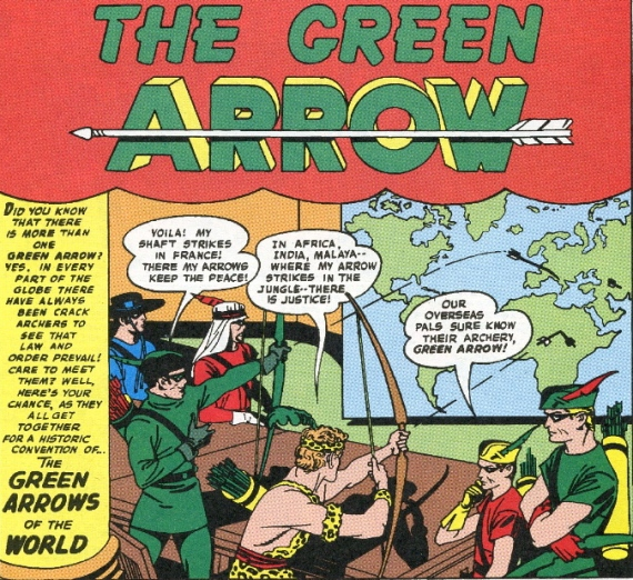green arrow jack kirby