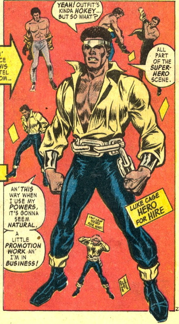 first appearance luke cage