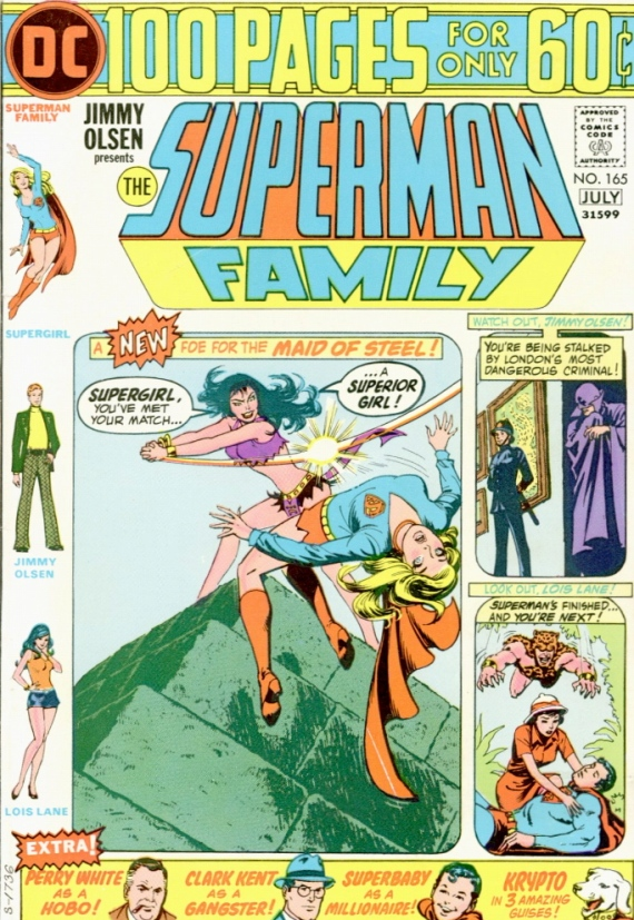 superman family cover