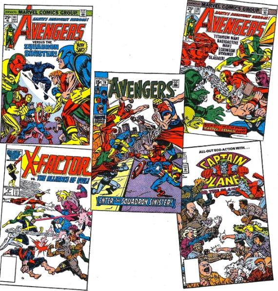 tribute to squadron supreme avengers cover