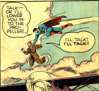 superman makes a death thread
