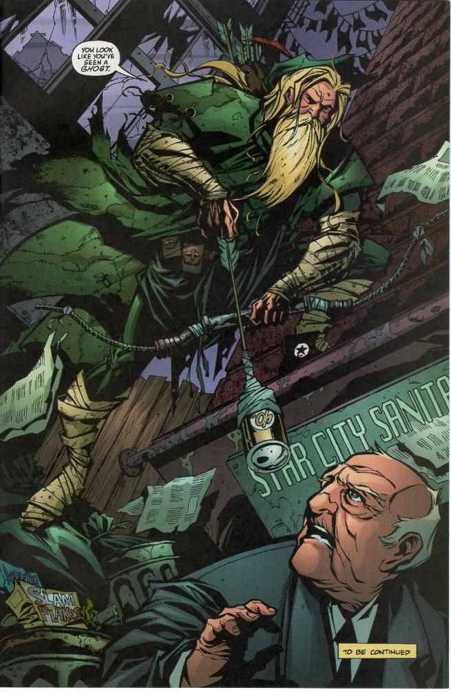 kevin smith's green arrow