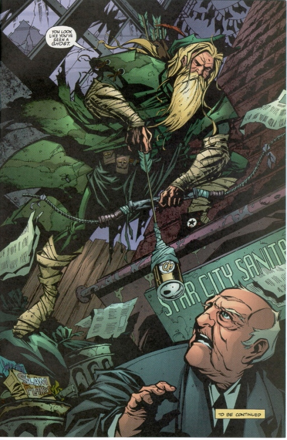 kevin smith's green arrow