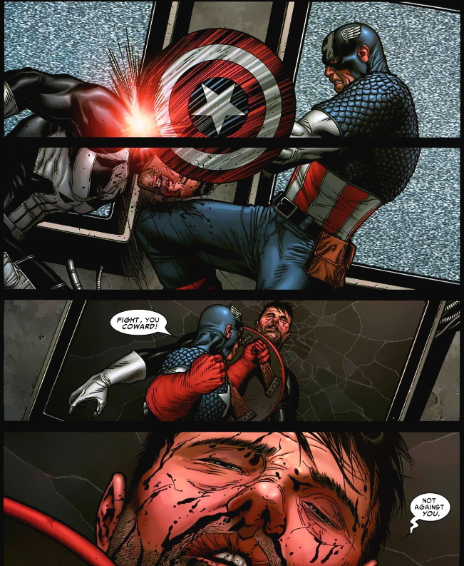 punisher vs captain america