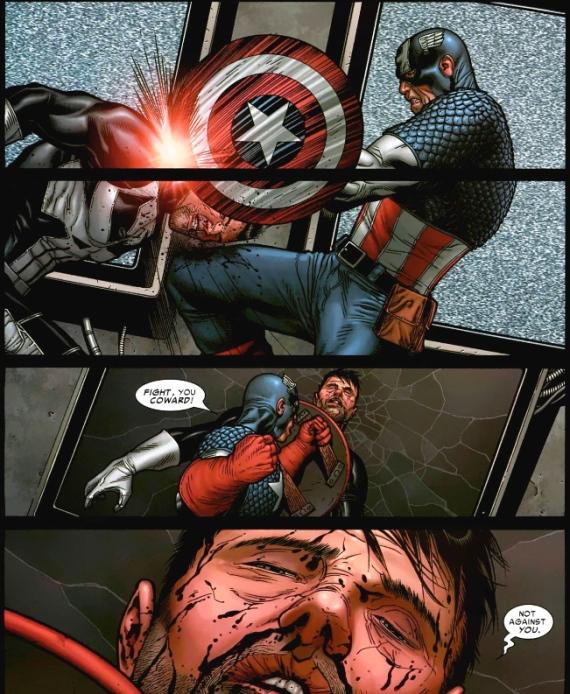 punisher vs captain america