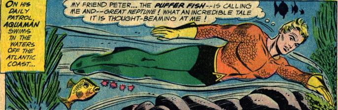 aquaman peter the puffer fish