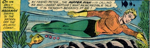 aquaman peter the puffer fish