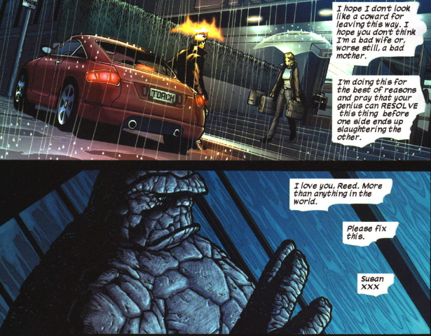 sue break up letter to reed fantastic four