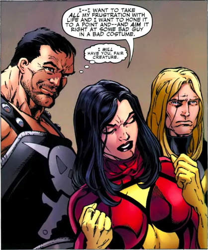 ares wants to fuck spider woman