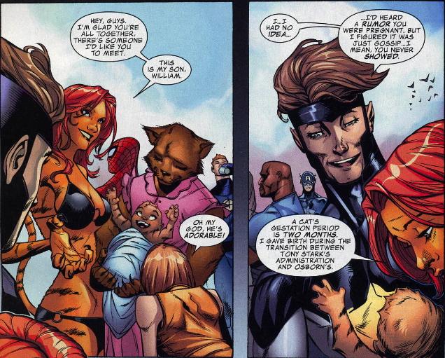 Marvel Tigra Son Mothers of Marv...