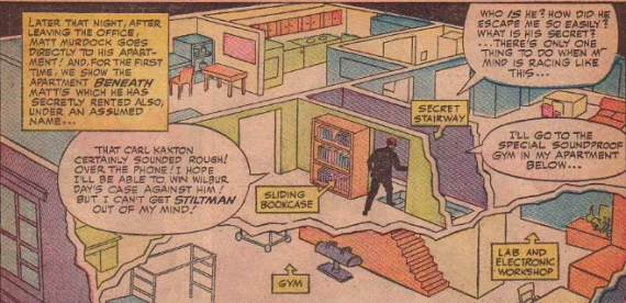 matt murdock apartment schematic