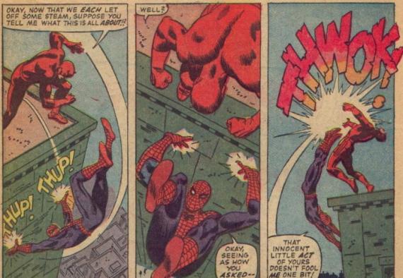 daredevil meets spiderman