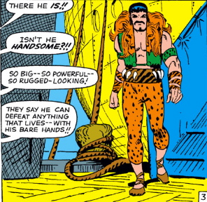 first appearance of kraven