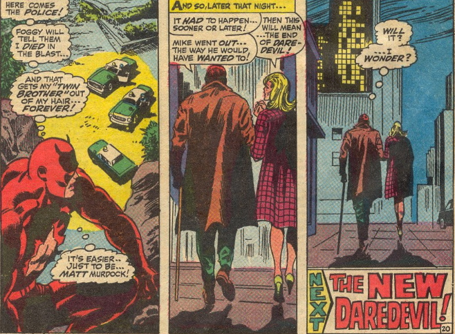daredevil 41 death of mike murdock
