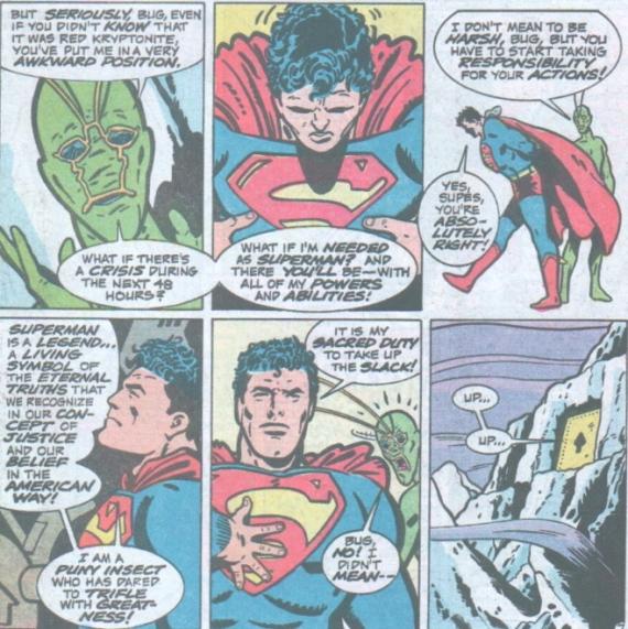 ambush bug and superman