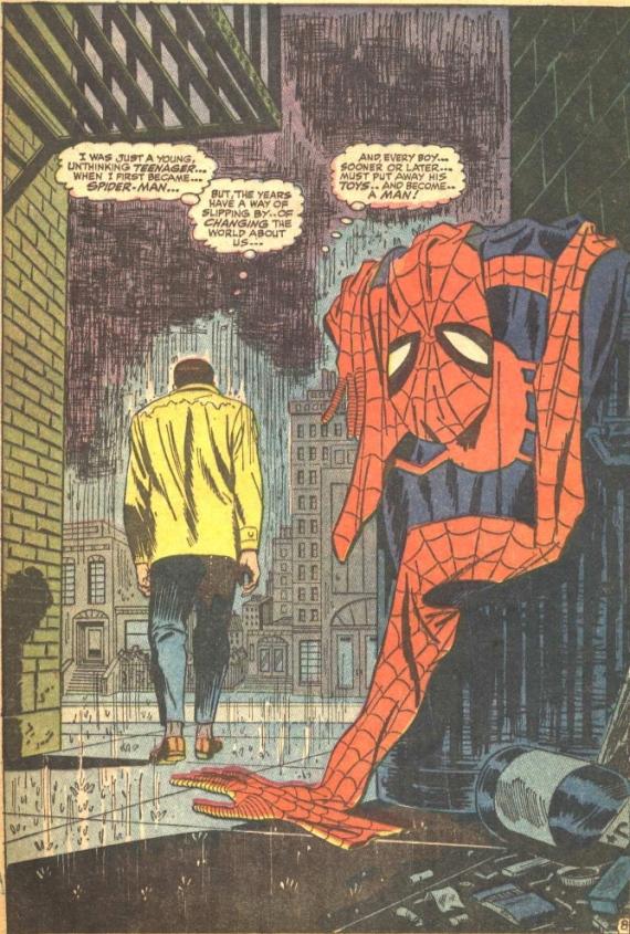 AMAZING SPIDER-MAN #50: Spider-Man No More