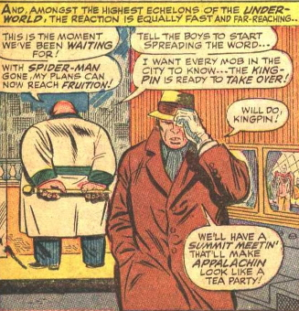 1st appearance of The Kingpin