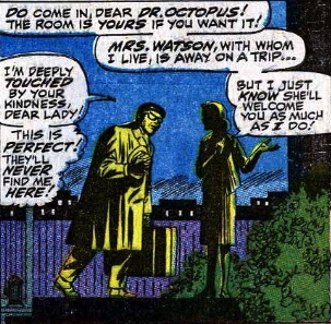 doctor octopus meets aunt may