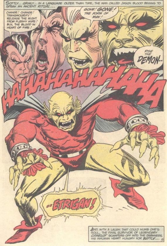 dc presents demon superman